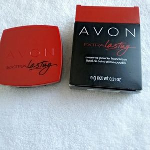 Avon Extra Lasting Cream To Powder Foundation